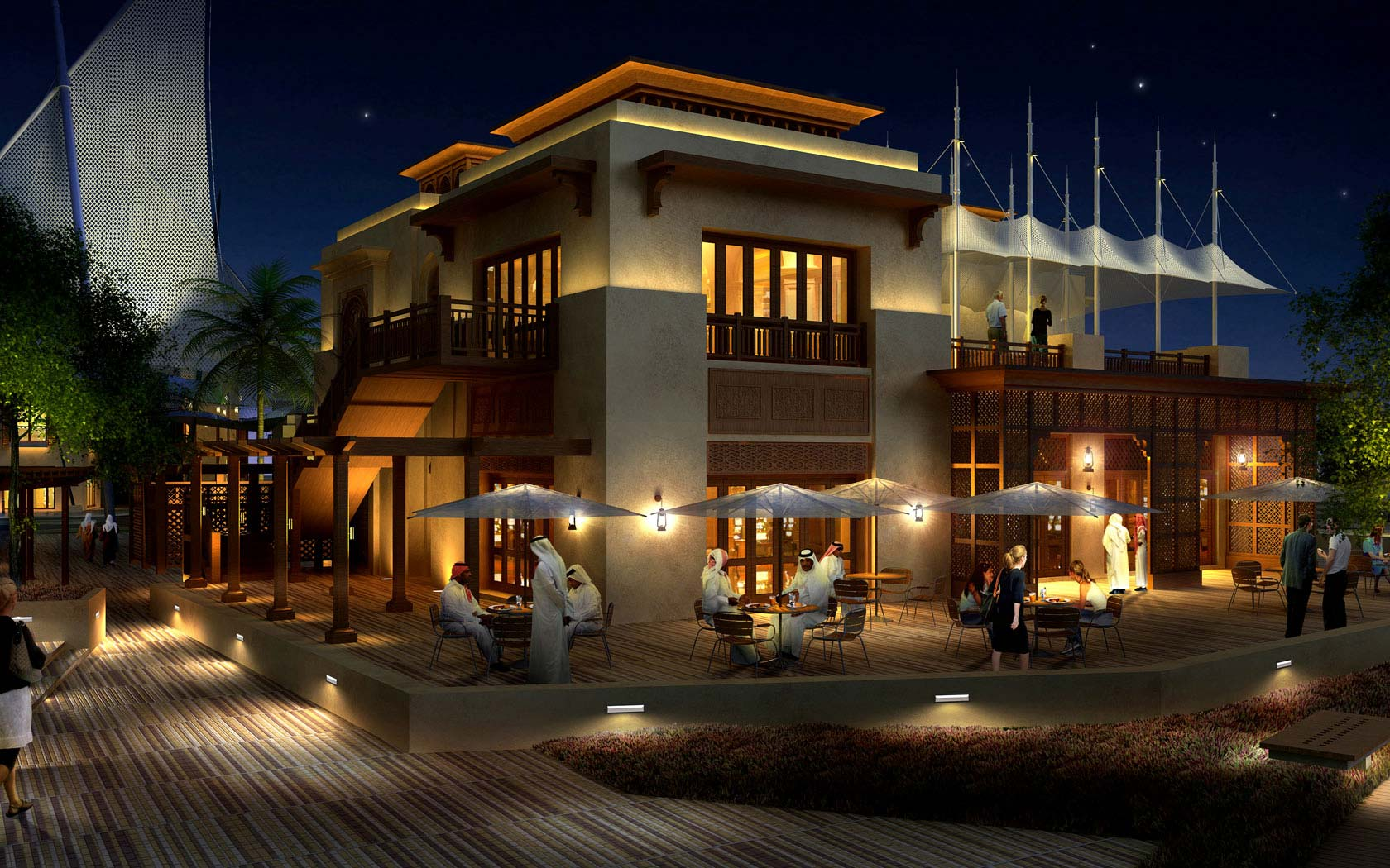 Delta Lighting Solutions Projects Al Bateen Wharf