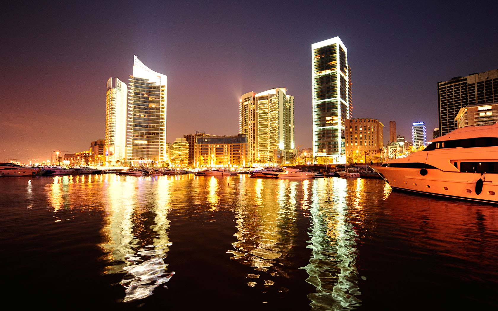 Delta Lighting Solutions Projects Beirut Waterfront
