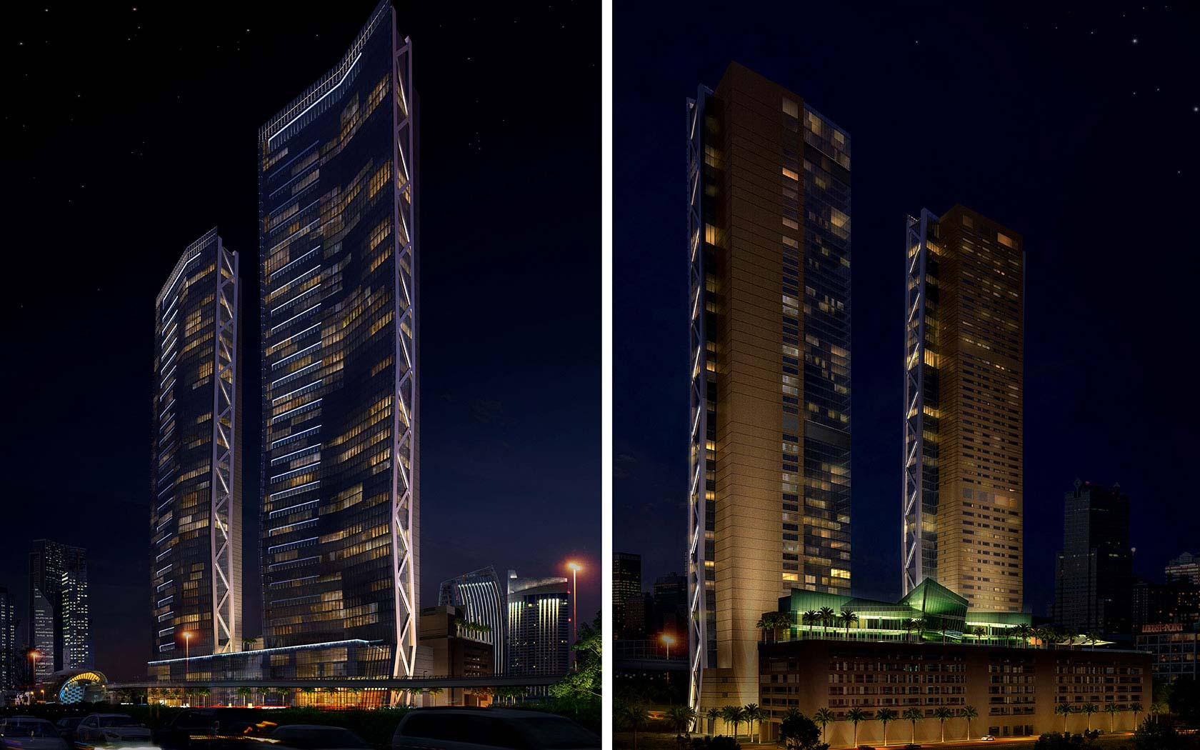 Delta Lighting Solutions Projects Dubai Mixed Use Tower