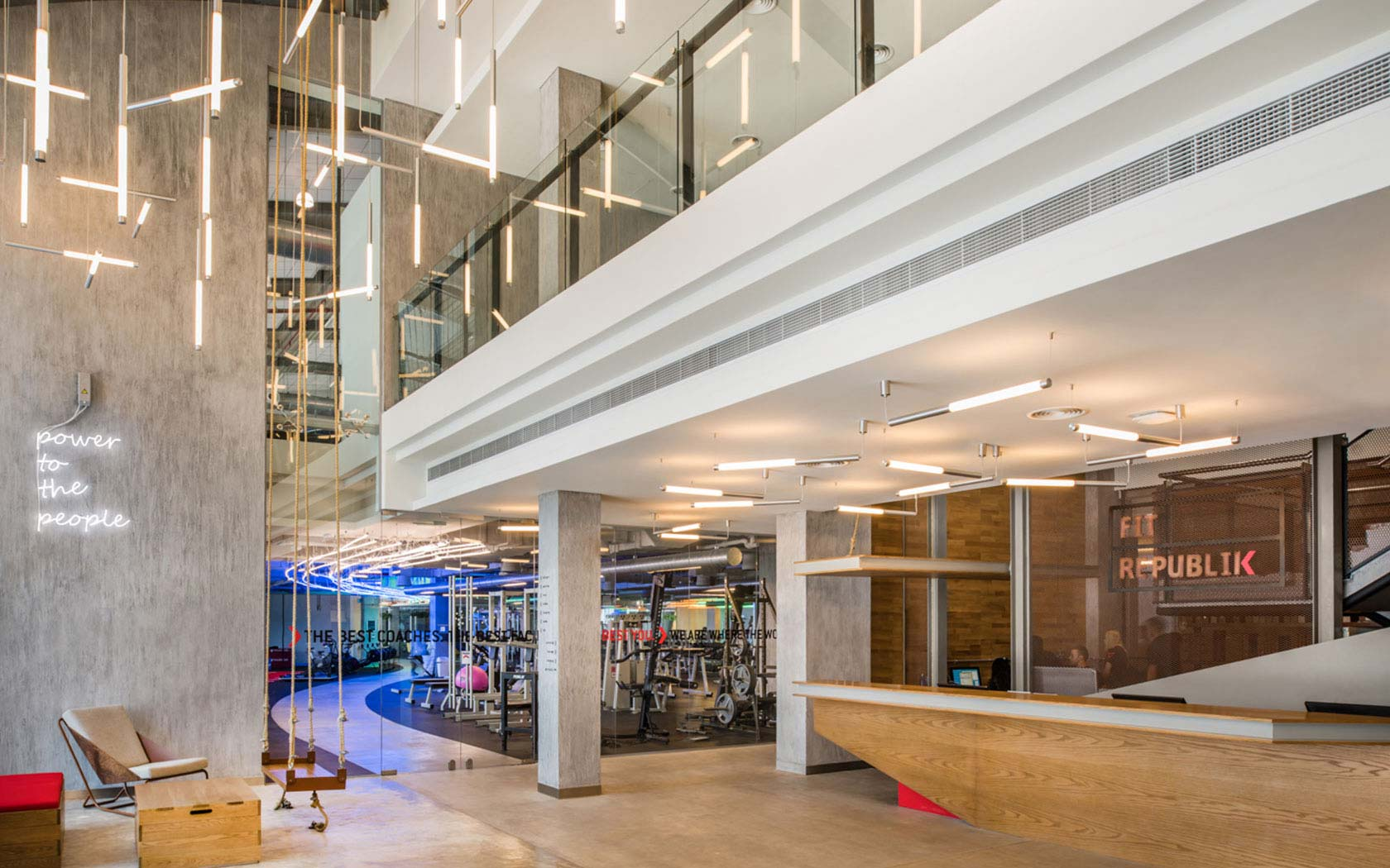 Delta Lighting Solutions Projects Fit Republic