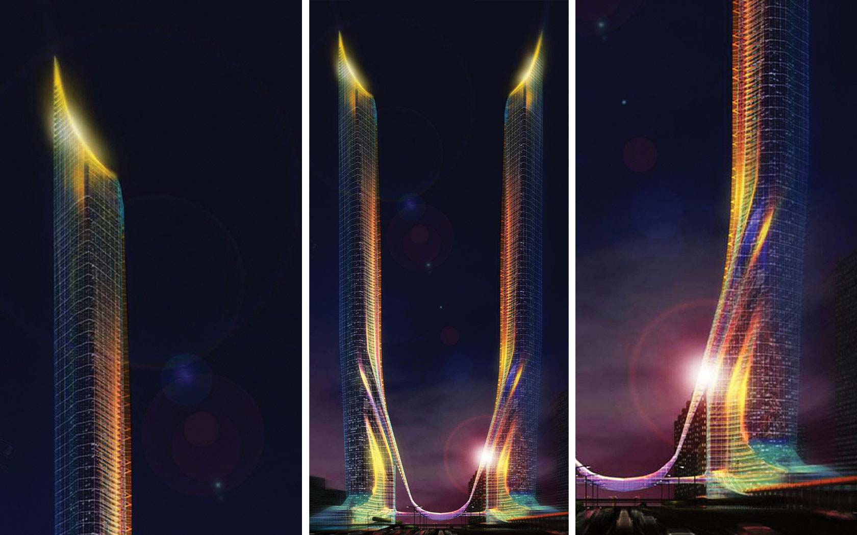 Delta Lighting Solutions Projects Tatweer Tower