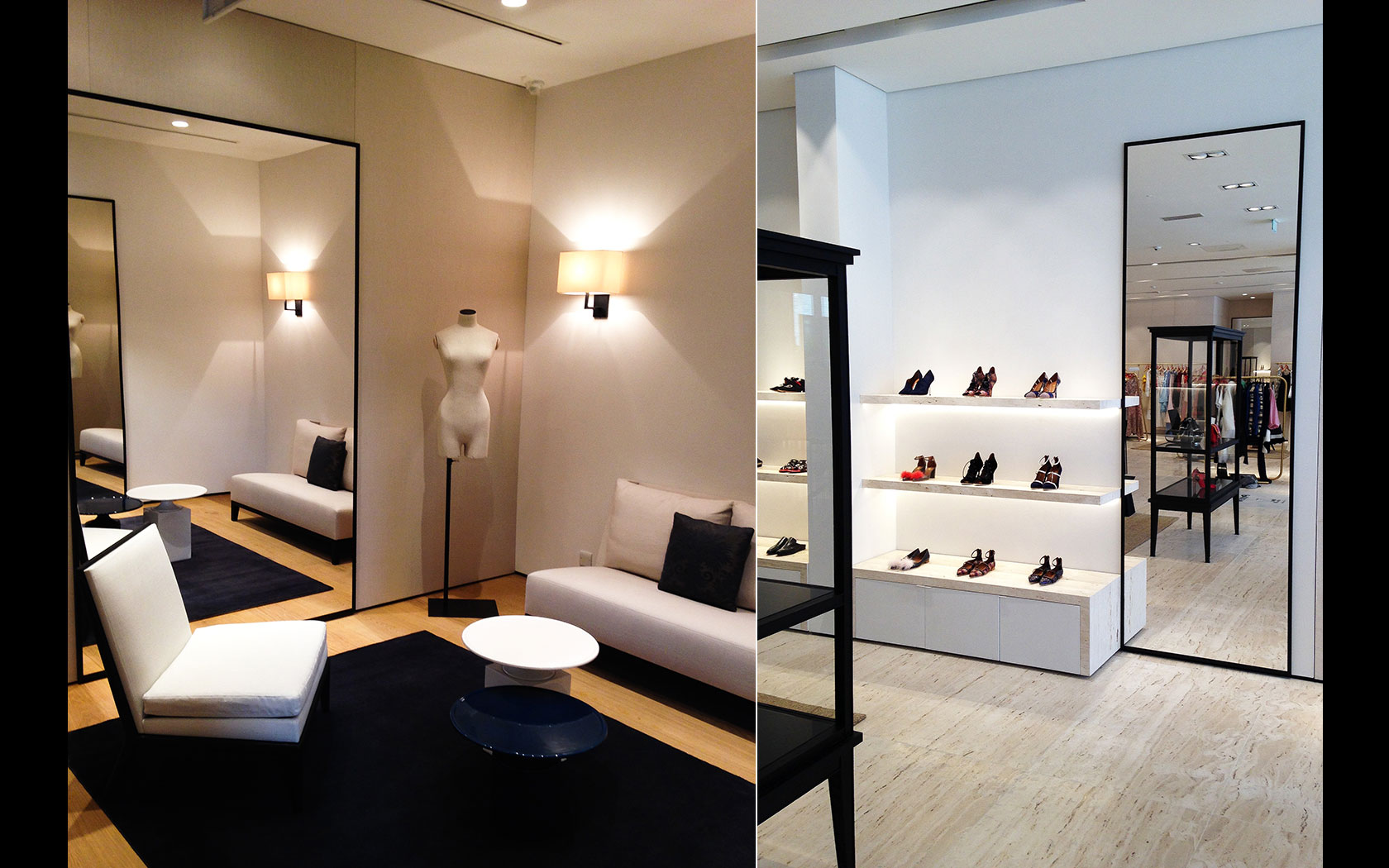 Careful consideration was also given to light colour temperature and light colour rendering during the design phases ensuring that items on display are ... & Delta Lighting Solutions   Projects   Boutique 1 azcodes.com