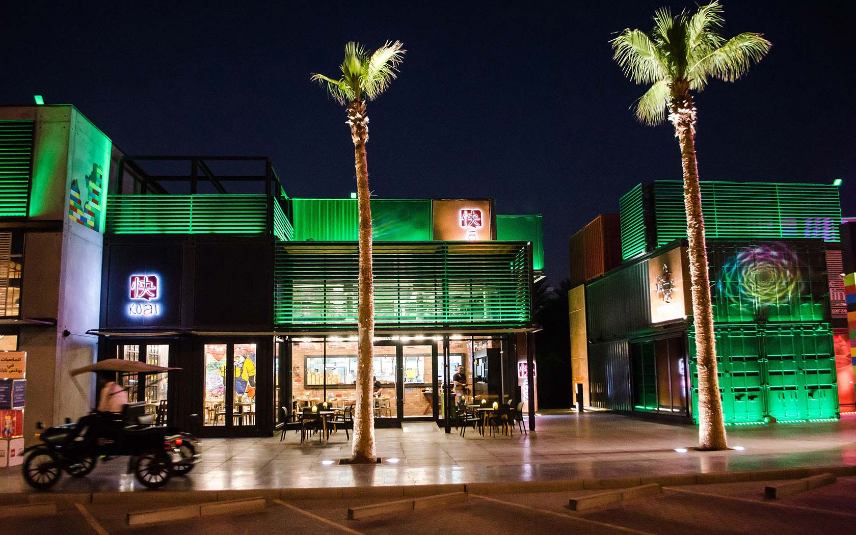 Delta Lighting Solutions Projects Box Park